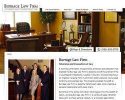 Thumbnail of www.burragelaw.com