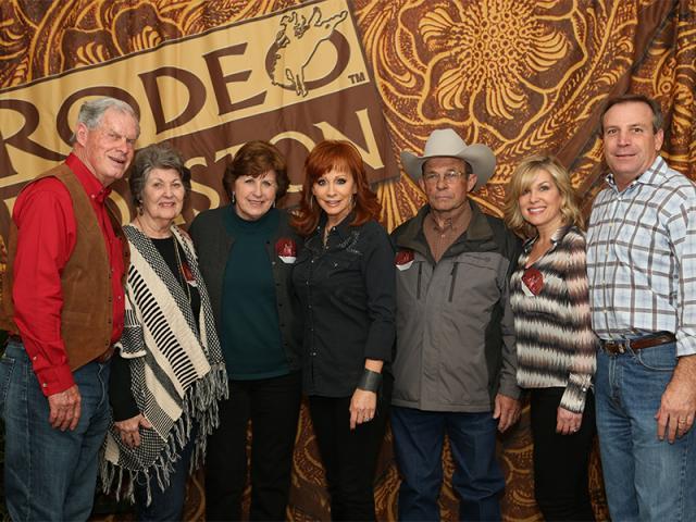2014 Houston Rodeo Reba Concert Photo